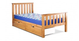 Napoli High Foot End Bedstead by Airsprung - Cin..