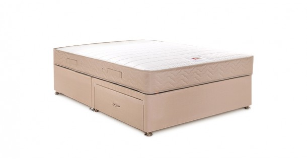 Catalina Super Coil Divan Set by Airsprung