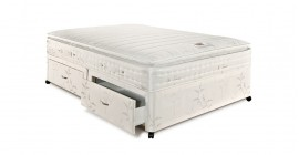 Symphony 1700 Pillowtop Pocket Divan Set by Airsprung