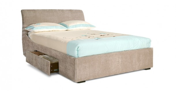 Oberon Bedstead With Storage by Limelight