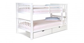 Pavo Bunk Bed in White by Limelight