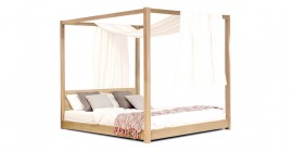Low Four Poster Bed by Get Laid Beds