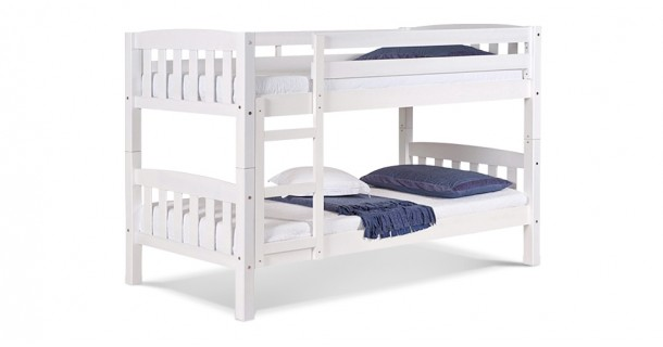 America Bunk Bed - Whitewash by Verona