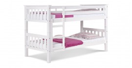 Barcelona Bunk Bed - Whitewash by Verona