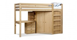 Rimini High Sleeper Antique Full Set by Verona